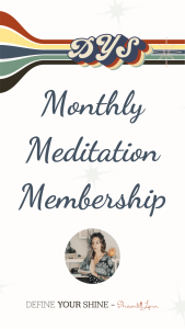 DYS Meditation Membership